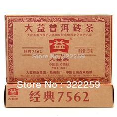 $19.83 (Buy here: https://alitems.com/g/1e8d114494ebda23ff8b16525dc3e8/?i=5&ulp=https%3A%2F%2Fwww.aliexpress.com%2Fitem%2FDIDA-TEA-PROMOTION-2013-Yunnan-Menghai-Dayi-TAETEA-Classical-7562-Puer-Pu-erh-Brick-Tea%2F1019894763.html ) [GREENFIELD] 2013 Yunnan Menghai Dayi TAETEA Classical Puer 7562 Puer Pu erh Brick Tea 250g Ripe Cooked Menghai 7562 tea factory for just $19.83
