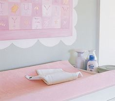 Changing Table Pad - Pottery Barn - $36 - fits the Babyletto dresser