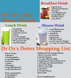 Little Things You Can Do For An Effective Detox Cleanse #LiverDetoxDietDrOz