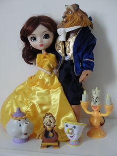 Pullip custom: Beauty and the Beast