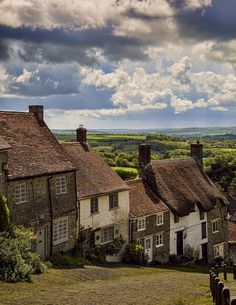 Gold Hill, Shaftesbury, Dorset, England by WillG Photography