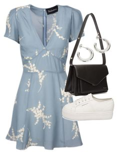 """Untitled #23641"" by florencia95 ❤ liked on Polyvore featuring Luella, Balenciaga and Superga"