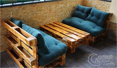 39 Ideas For Diy Furniture Couch Homemade Coffee Tables Recycled Pallet Furniture, Pallet Garden Furniture, Diy Furniture Couch, Wooden Pallet Projects, Wooden Furniture, Outdoor Furniture Sets, Furniture Ideas, Pallet Ideas, Recycled Pallets