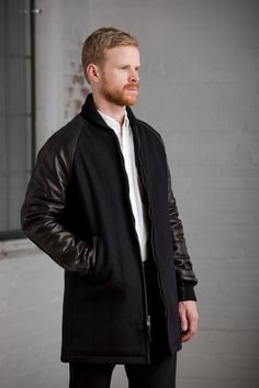 Long Varsity Jacket - Outerwear - Accessories