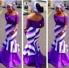 Creative Ankara and Lace Gown Design .... Creative Ankara and Lace Gown Design
