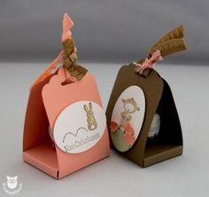 Stampin' Up! Verpackung für Schokoladeneier