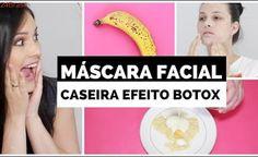 MÁSCARA FÁCIAL CASEIRA COM EFEITO BOTOX! por Julia Doorman