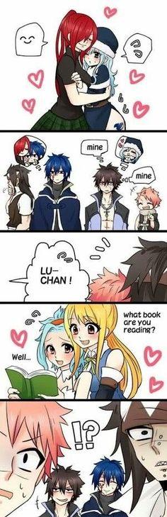 Fairy Tail Jealous Boyfriends~