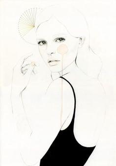#ilustracion #dibujo #mujer