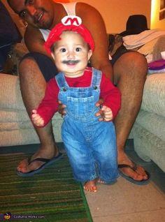 Mario - 2012 Halloween Costume Contest