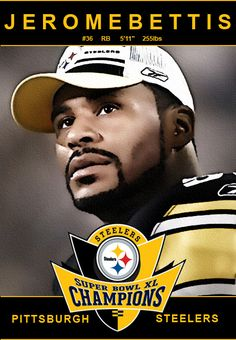 Just a simple card like picture I made using the tooned bettis image I recently made [link] Jerome Bettis Super Bowl Card Steelers Meme, Steelers Pics, Steelers Stuff, Pittsburgh Steelers Players, Pittsburgh Sports, Dallas Cowboys, Football Is Life, Nfl Football, Football Players