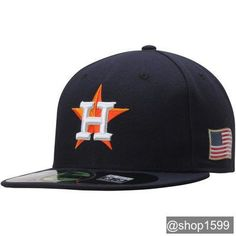 Sports Shop has Men s New Era Navy Houston Astros September On-Field Fitted  Hat plus easy flat rate shipping! 6cf6400a6ff