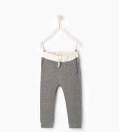 Trousers with contrasting waist-TROUSERS-BOY | 4-14 years-KIDS | ZARA United States