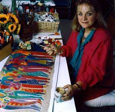 jeweler and artist Laurel Burch, bone fractures, osteopetrosis, rare disease, bone fragility, time hippies, Free spirit, hippie culture, Beautiful