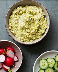Lima Bean Hummus. The buttery texture of lima beans make an outstanding smooth and creamy hummus. Serve them up with some vegetables or crackers and you have the perfect party dip.  Slideshow: Party Dips
