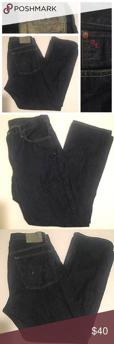 "Ralph Lauren Polo Dark Denim jeans Sz 36x32 Ralph Lauren Polo Dark Denim jeans Sz 36x32.  This item is in excellent pre owned condition.  Like what you see? Click ""Add to bundle"" on each item you like and I will send you an exclusive no obligation offer for those listings.  I'm open to reasonable offers. Add me to favorites as I always have new items being listed and the hottest 🔥 male fashion on posh 😉👌🏽 Polo by Ralph Lauren Jeans Bootcut"