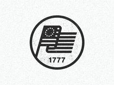 June 14 1777 by Half & Half #Design Popular #Dribbble #shots