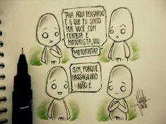 (Desenhos de um garoto solitário, por Naldo Junio)