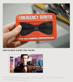 The inventor of the emergency bow tie | 21 People Who Deserve Medals