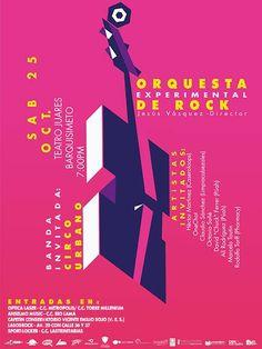 Cresta Metálica Producciones » La Orquesta Experimental de Rock en el Teatro Juares de Barquisimeto este 25 de Octubre 2014