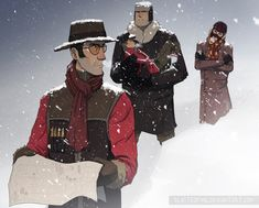 In the Snow by BlastedKing on DeviantArt