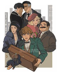 """Kadeart on Twitter: """"If Fantastic Beasts made by Studio Ghibli https://t.co/DV5PVxjj2A"""""""