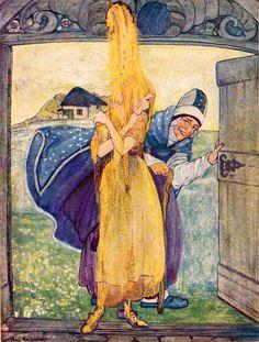 Frau Holle (Illustrationen) – Grimm-Bilder Wiki