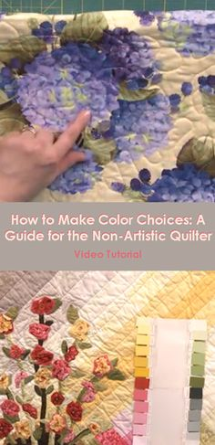 Are you color challenged? If you struggle to pick colors for your quilting projects, this video tutorial will teach you the basics of color theory and will get you thinking about color in a brand new way!