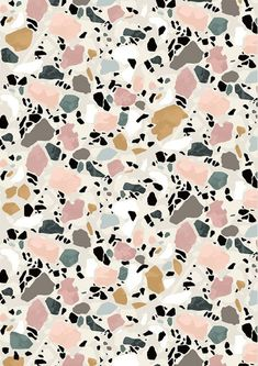 terrazo flooring Terrazzo Postcard by Sylvia Takken Abstract Pattern, Pattern Art, Pattern Design, Marble Pattern, Pastel Pattern, Textures Patterns, Color Patterns, Print Patterns, Do It Yourself Inspiration