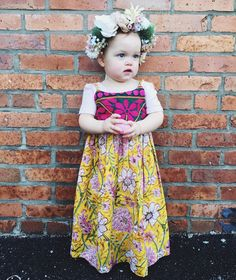 Boho kids, hippie baby clothes, baby shower gift, pinafore baby dress, bohemian baby shower.  Littlemoonclothing.bigcartel.com