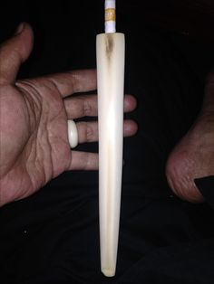 Smooking Pipe Ivory 21 Cm