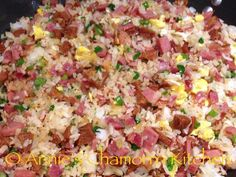 Permalink to: Fried Rice with Spam, Bacon and Chorizos Españot Spam Recipes, Cooking Recipes, Healthy Recipes, Rice Recipes, Cooking Ideas, Recipies, Chamorro Recipes, Chamorro Food, Filipino Recipes