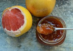 This looks very intriging . I don't can though but Im sure you can feeze it. Grapefruit Jam by Marissa Mc  Clellan #Jam #Grapefruit