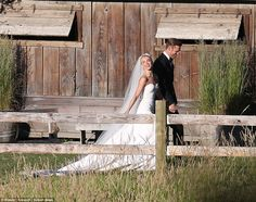 Picture perfect: Julianne looked stunning in her designer gown as she stayed close to her ...