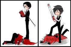 Image shared by Tasha🐾. Find images and videos about kuroshitsuji, black butler and sebastian michaelis on We Heart It - the app to get lost in what you love. Grell Black Butler, Black Butler Funny, Black Butler Sebastian, Black Butler Kuroshitsuji, Ciel Phantomhive, Manhwa, Black Butler Characters, Sebaciel, Fanart