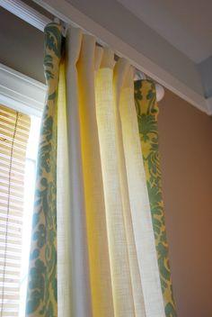 Curtains edge