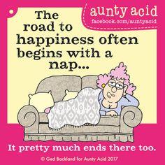Nov 30, 2017 - Aunty Acid - nap