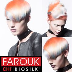 Cut & Color Hair HOW-TO from Farouk's Mosaic Collection! #Chromashine #CHIcolor