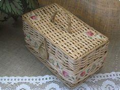 Поделка изделие Плетение Набор для кухни  Пшеничный аромат  Бумага газетная Трубочки бумажные фото 17