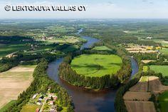 Kokemäenjoen maisemia, Nakkila Ilmakuva: Lentokuva Vallas Oy