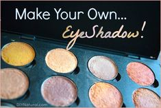 How to Make Eyeshadow: Recipes for a Brazilian Clay Eyeshadow Palette homemade makeup recipes - Makeup Recipes How To Make Eyeshadow, Diy Eyeshadow, Eyeshadow Palette, Eyeshadows, Makeup Palette, Neutral Eyeshadow, Simple Eyeshadow, Cream Eyeshadow, Organic Makeup