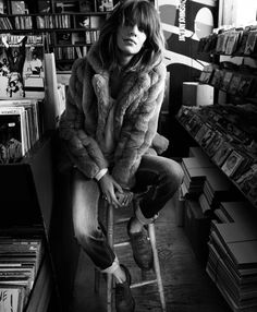 Record store chic
