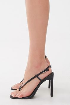 Product Name:Faux Leather Thong Heels, Category:Shoes, Stilettos, Stiletto Heels, Shop Forever, Forever 21, Geisha Costume, Sexy Sandals, Sexy High Heels, Leather Heels, Latest Trends
