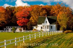 Image detail for -1008 0080 agriculture autumn barn farm landscape Prince Edward Island ...
