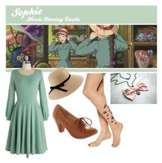 """""""Sophie (Howl's moving castle)"""" by curiosity-engineer ❤ liked on Polyvore"""