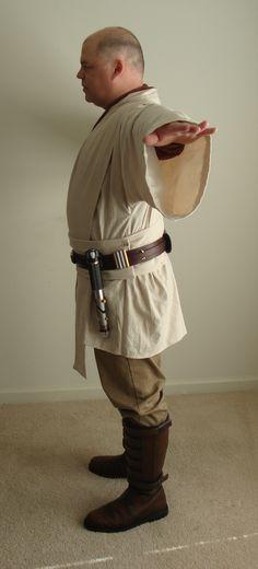 Jedi Tunic, Jedi Robe, Bradley Mountain, Star Wars, Cosplay, Costume, Stars, Fashion, Gowns