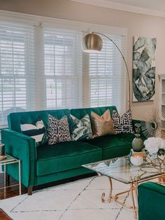 - Welcome to our website, We hope you are satisfied with the content we offer. Mid Century Modern Living Room, Living Room Modern, Home And Living, Living Room Designs, Glam Living Room, Living Room Green, Living Room Decor, Bedroom Decor, Living Room Inspiration
