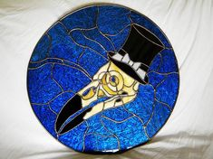 Extraordinary custom designed piece- by, Thistledown Stained Glass