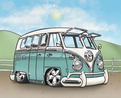 VW Bus - Deluxe