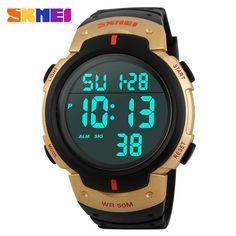SKMEI Sports Army Military Digital Watch